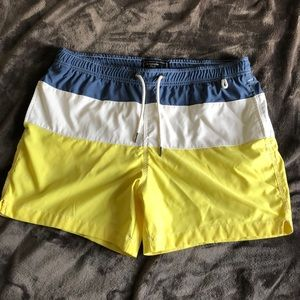 Abercrombie and Fitch swim trunk